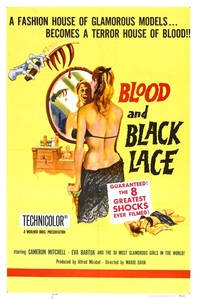 BLOOD AND BLACK LACE FILM REVIEW