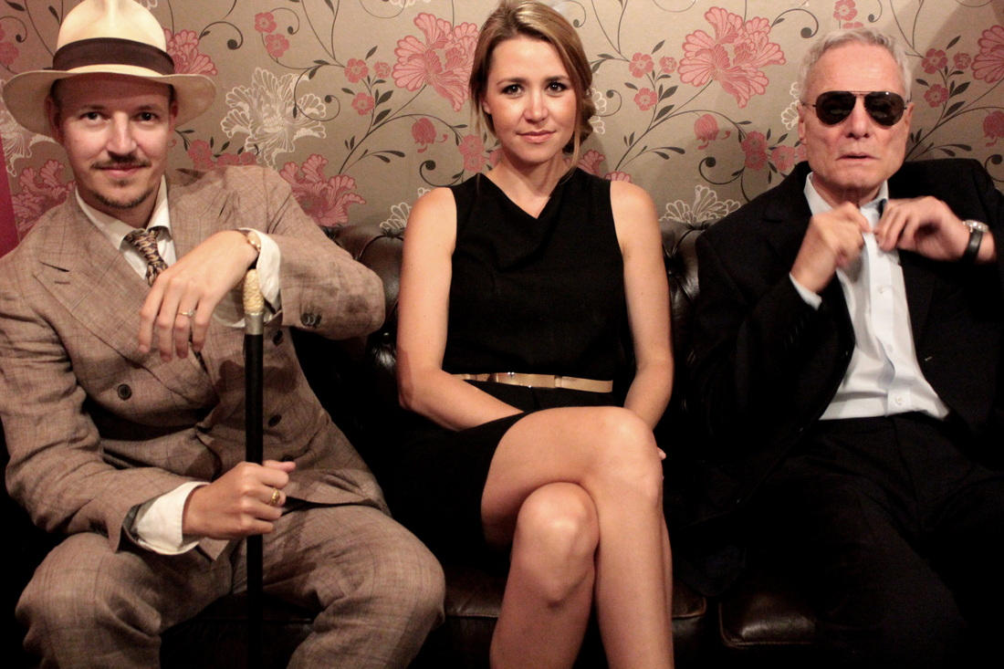 TOM SIX, IIONA SIX AND DIETER LASER  Picture