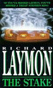 THE STAKE BY RICHARD LAYMON PAPERBACK COVER BEST WEBSITE FOR AUTHOR INTERVIEWS