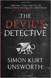 THE DEVIL'S DETECTIVE BY SIMON KURT UNSWORTH BOOK REVIEW COVER