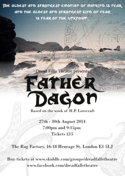 HORROR NEWS father dagon dread falls theatre