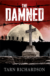 THE DAMNED BY TARN RICHARDSON BOOK COVER WWI WOLF SOLDIERS