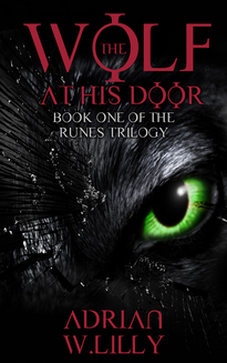 THE WOLF AT HIS DOOR COVER HORROR AUTHOR INTERVIEW