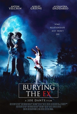 burying the ex poster interview horror website Picture