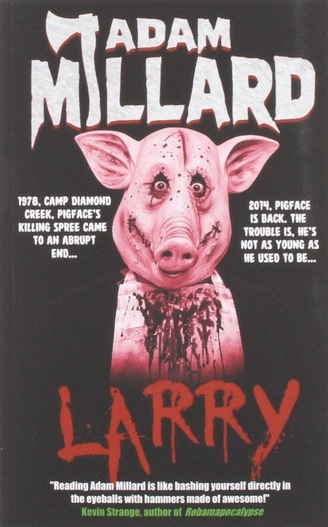 adam millard larry book cover horror author interview Picture