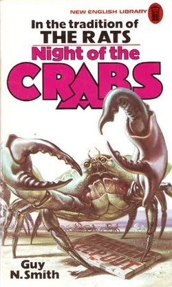 NIGHT OF THE CRABS HORROR NOVEL REVIEW WEBSITE Picture
