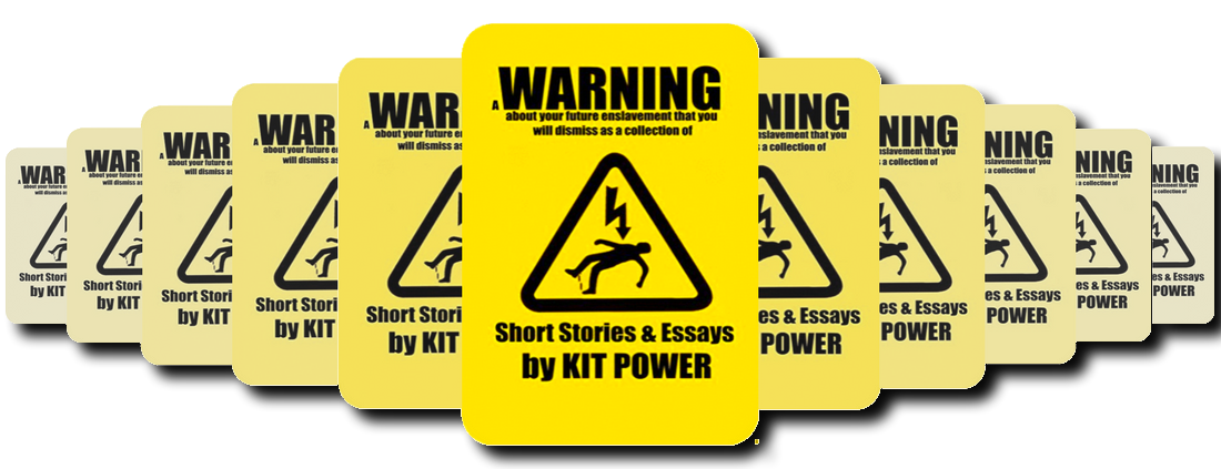 A WARNING ABOUT YOUR FUTURE ENSLAVEMENT THAT YOU WILL DISMISS AS A COLLECTION OF SHORT FICTION AND ESSAYS BY KIT POWER