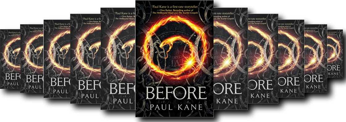 BEFORE BY PAUL KANE BOOK REVIEW