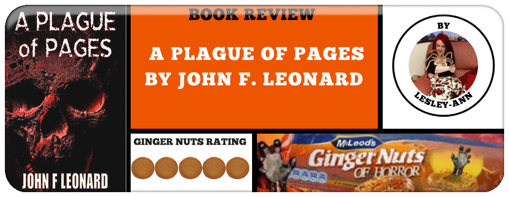 BOOK REVIEW- A PLAGUE OF PAGES BY JOHN F. LEONARD