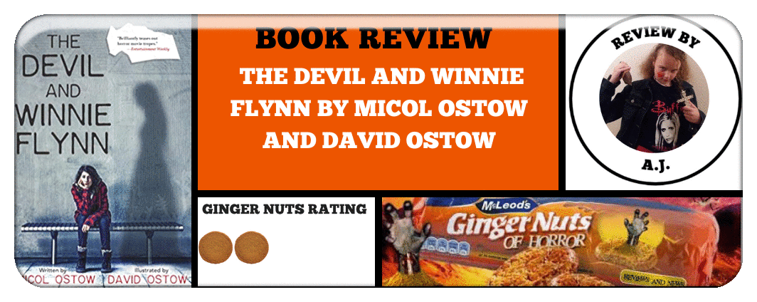 BOOK REVIEW- ​THE DEVIL AND WINNIE FLYNN BY MICOL OSTOW AND DAVID OSTOW