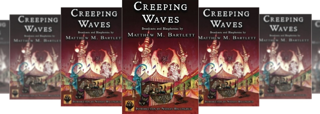 creeping waves by matthew m bartlett horror fiction review Picture