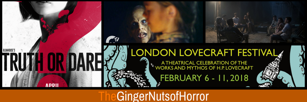 ginger nuts of horror news round up
