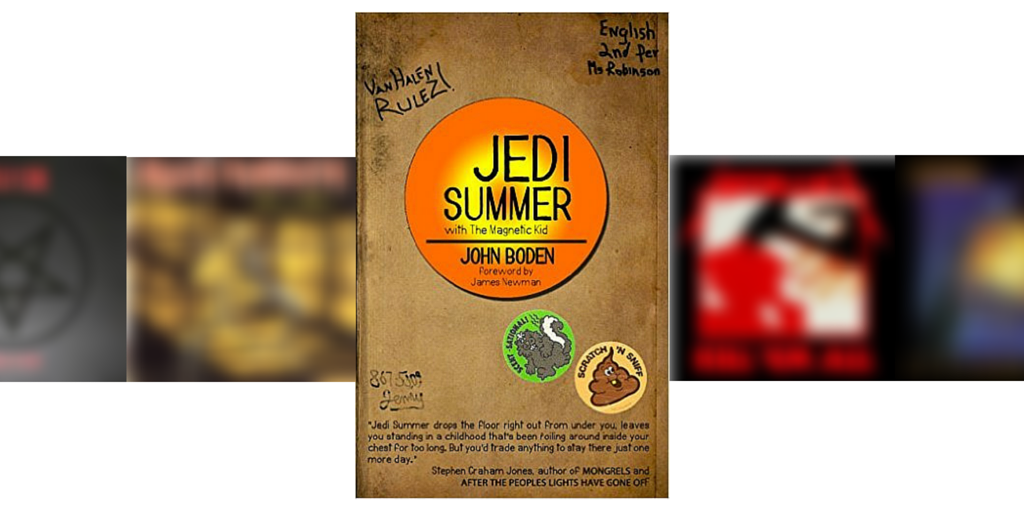 Jedi Summer John Boden book review horror website uk  Picture
