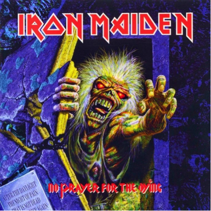 Iron Maiden No Prayer for the Dying remastered album cover image Picture