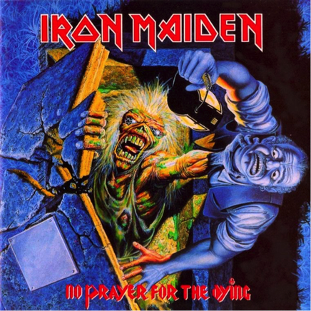 Iron Maiden No Prayer for the dying album cover Picture