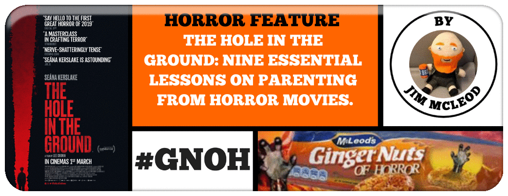 THE HOLE IN THE GROUND- NINE ESSENTIAL LESSONS ON PARENTING FROM HORROR MOVIES.