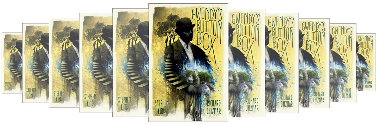 Of Collectible Horror And Suspense Books Has Just Published Hardcover EBook Editions Gwendys Button Box By Stephen King Richard Chizmar