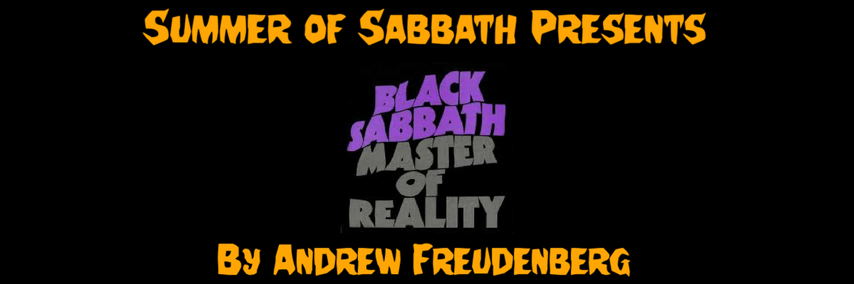 SUMMER OF SABBATH PRESENTS MASTERS OF REALITY HORROR REVIEW WEBSITE UK BLOG
